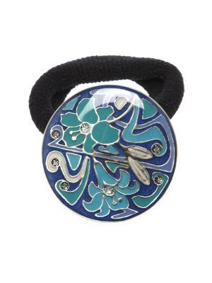 Резинка Clara Bijoux. Цвет: синий, бирюзовый, зеленый