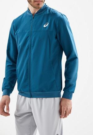 Куртка ASICS. Цвет: бирюзовый