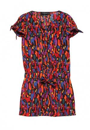 Платье Jacob Lee. Цвет: разноцветный