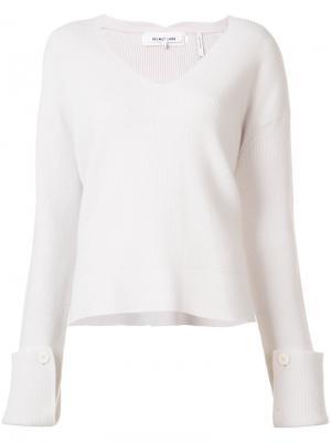 Ribbed sweater Helmut Lang. Цвет: белый