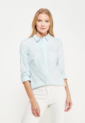 Блуза Tom Farr. Цвет: голубой