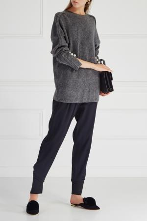 Однотонные брюки 3.1 Phillip Lim. Цвет: синий