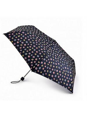 L553-3532 OffbeatBuds (Бутоны) Зонт женский механика Fulton. Цвет: синий
