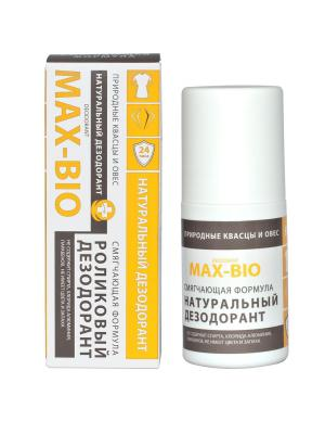Дезодорант MAX-BIO Смягчающая формула. Цвет: желтый