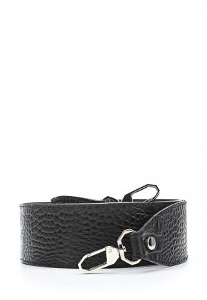 Ремень для сумки Asya Malbershtein. Цвет: черный