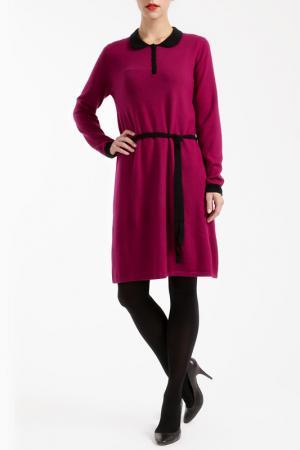 Платье LES ATELIERS DE LA MAILLE. Цвет: фиолетовый