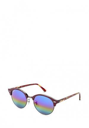Очки солнцезащитные Ray-Ban®. Цвет: бордовый