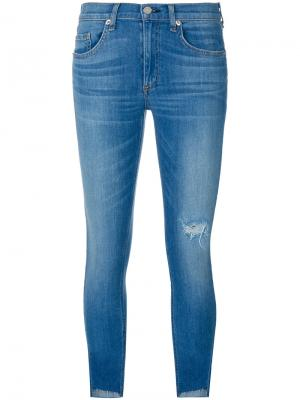 Cropped jeans Rag & Bone. Цвет: синий