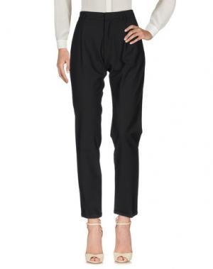 Повседневные брюки OFFICINA 36. Цвет: черный