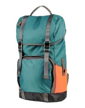 Рюкзаки и сумки на пояс UTC00. Цвет: изумрудно-зеленый
