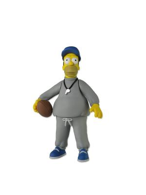 Фигурка The Simpsons 5 Series 1 - Coach Homer Neca. Цвет: серый
