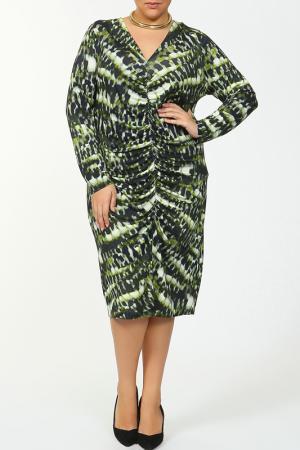 Платье Verpass. Цвет: зеленый