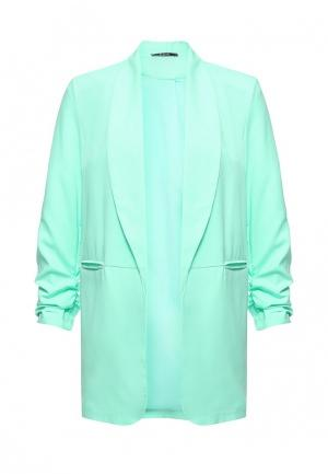 Пиджак Aurora Firenze. Цвет: зеленый