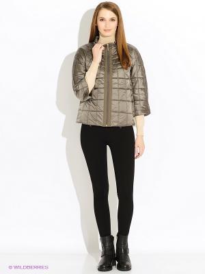 Куртка Baon. Цвет: светло-серый, лиловый, бледно-розовый