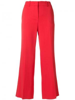 Укороченные расклешенные брюки с завышенной талией Emilio Pucci. Цвет: жёлтый и оранжевый