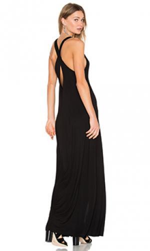 Платье-майка grady Michael Lauren. Цвет: черный