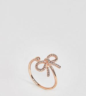 Olivia Burton Кольцо цвета розового золота в винтажном стиле. Цвет: золотой