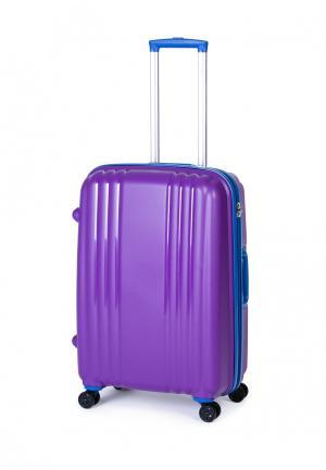 Чемодан Baudet. Цвет: фиолетовый