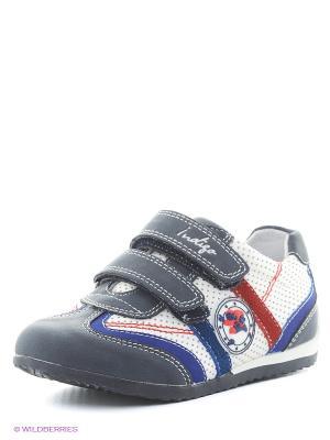 Ботинки Indigo kids. Цвет: темно-синий, белый