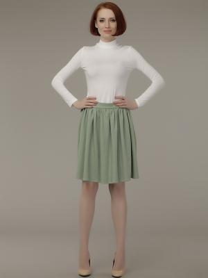 Водолазка Анна Чапман. Цвет: белый, молочный