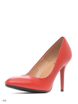 Туфли ELCHE. Цвет: красный
