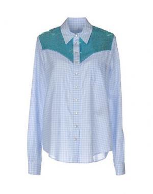 Pубашка AMERICAN RETRO. Цвет: небесно-голубой