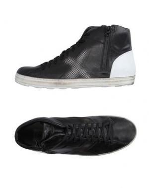 Высокие кеды и кроссовки O.X.S.. Цвет: черный