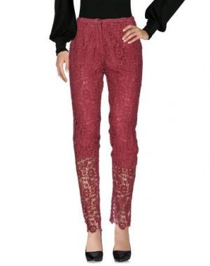 Повседневные брюки SOHO DE LUXE. Цвет: пурпурный