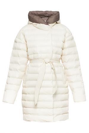 Пальто ODRI Mio. Цвет: экрю, мокко