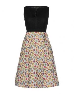 Платье до колена ES'GIVIEN. Цвет: светло-розовый