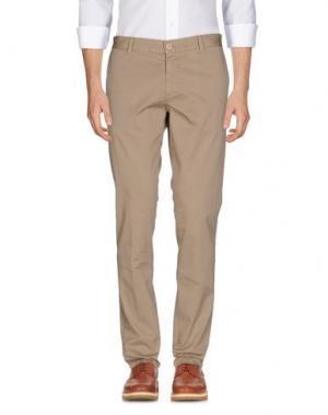 Повседневные брюки HERMAN & SONS. Цвет: хаки