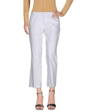 Повседневные брюки MALAICA. Цвет: белый