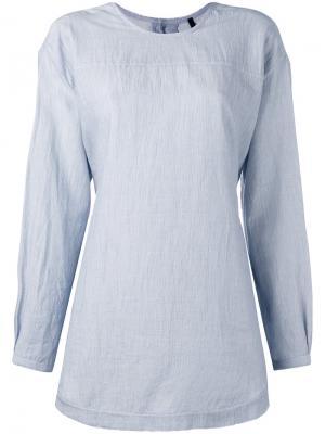 Рубашка с застежкой на пуговицы спине Sara Lanzi. Цвет: none
