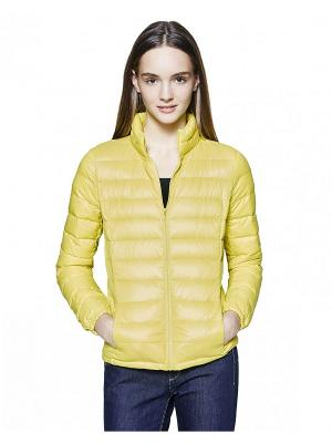 Куртка United Colors of Benetton. Цвет: салатовый