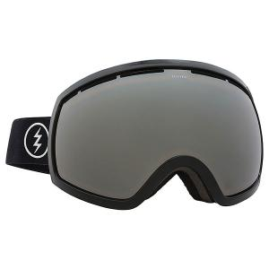 Маска для сноуборда  Eg2 Gloss Real Black+bl/Brose/Silver Chrome Electric. Цвет: черный