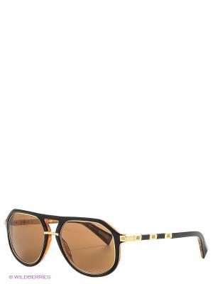 Солнцезащитные очки BLD 1625 101 Baldinini. Цвет: коричневый, золотистый