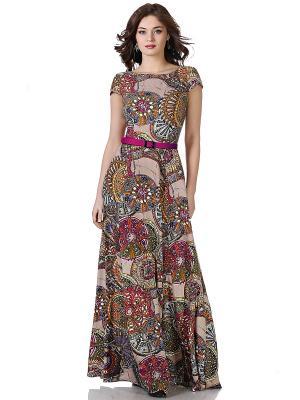 Платье OLIVEGREY. Цвет: коричневый