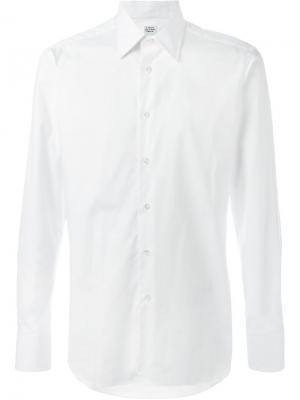 Классическая рубашка E. Tautz. Цвет: белый