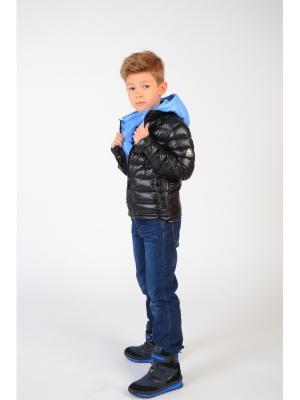 Куртка BORELLI. Цвет: голубой