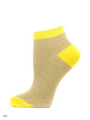 Носки (к-т 10 пар) Галант.. Цвет: сиреневый, желтый