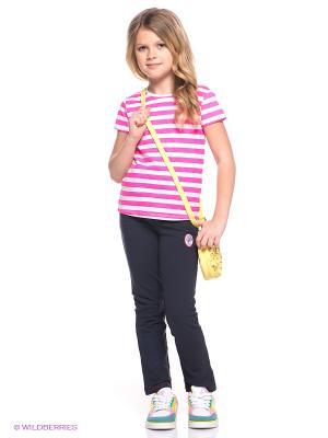 Спортивные штаны Goldy. Цвет: темно-синий