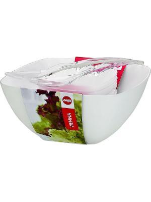 Набор для салата EMSA VIENNA 7 предметов 512766. Цвет: белый
