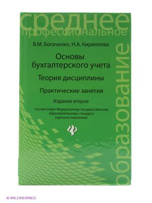 Основы бухгалтерского учета: теория дисциплины, практические занятия. Феникс. Цвет: зеленый
