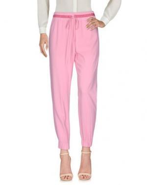 Повседневные брюки .TESSA. Цвет: розовый