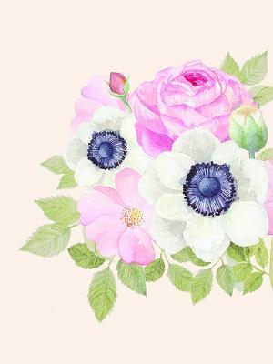 Наволочка Весна Матренин Посад. Цвет: розовый, белый