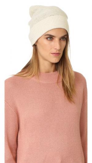 Шапка платочной вязки с наушниками Rebecca Minkoff. Цвет: рубиновый