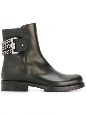 Ботинки по щиколотку Loriblu. Цвет: чёрный