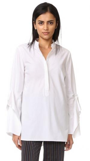 Рубашка Sloan Acler. Цвет: белый