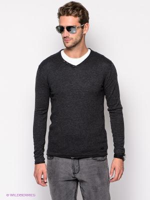 Пуловер Mezaguz. Цвет: антрацитовый