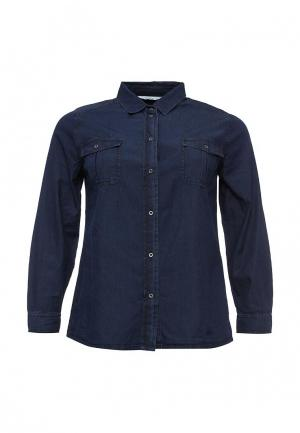 Рубашка джинсовая Studio Untold. Цвет: синий